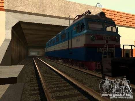 Vl60k 2364 pour GTA San Andreas sur la vue arrière gauche