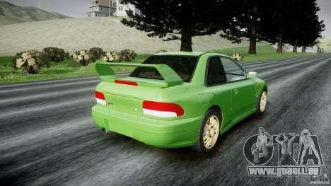 Subaru Impreza 22b 1998 (final) pour GTA 4 est un côté