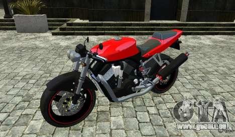 Suzuki Street Fighter Custom für GTA 4 Rückansicht