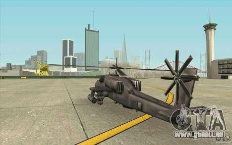 Steal Hunter pour GTA San Andreas vue de droite
