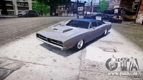 Ride basse de Dodge Charger RT 1969 tun v1.1 pour GTA 4