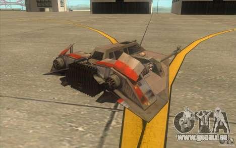 T-47 Snowspeeder für GTA San Andreas Innen