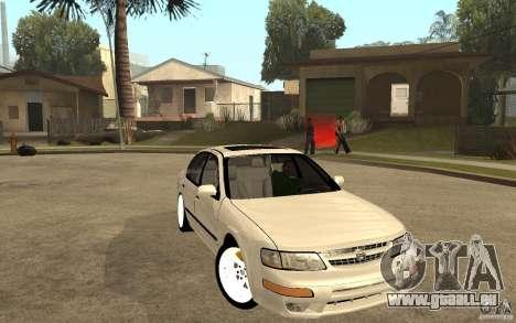 Nissan Maxima 1998 pour GTA San Andreas vue arrière
