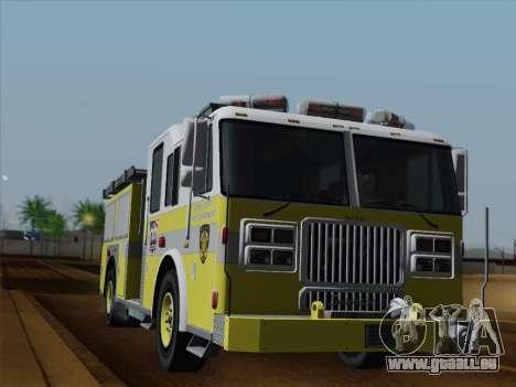 Seagrave Marauder II BCFD Engine 44 pour GTA San Andreas salon