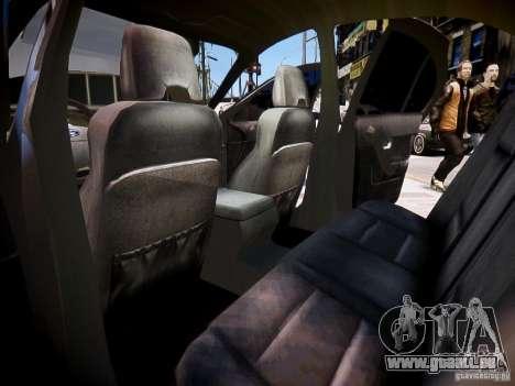 Ford Falcon XR-8 pour GTA 4 est une vue de l'intérieur