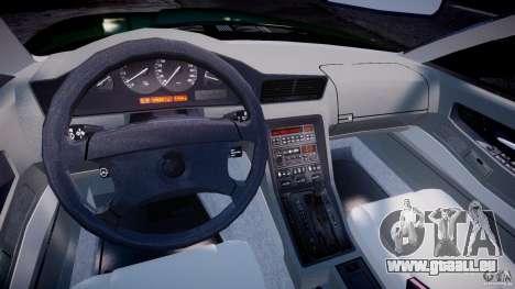 BMW 850i E31 1989-1994 für GTA 4 rechte Ansicht