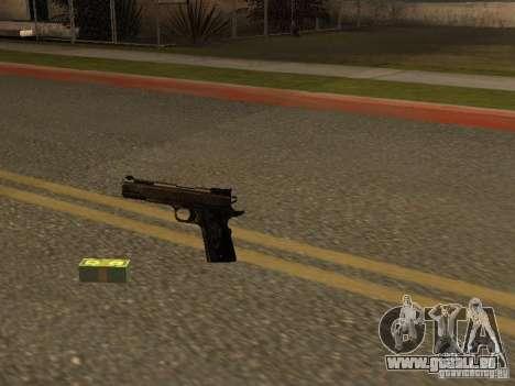 Pistolet 9 mm pour GTA San Andreas