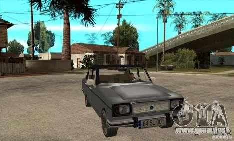 Anadol A1 SL 1975 für GTA San Andreas Rückansicht