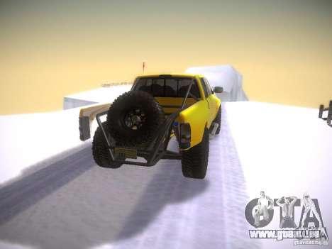 Dodge Ram Prerunner pour GTA San Andreas sur la vue arrière gauche