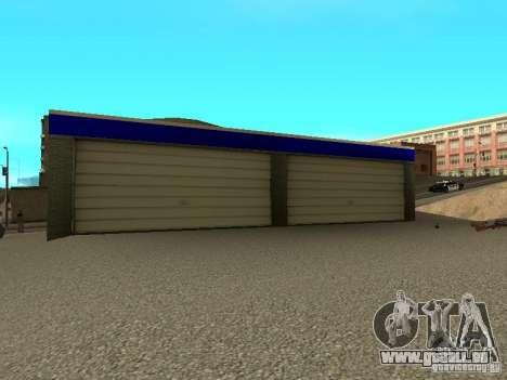 Garage à San Fierro pour GTA San Andreas troisième écran