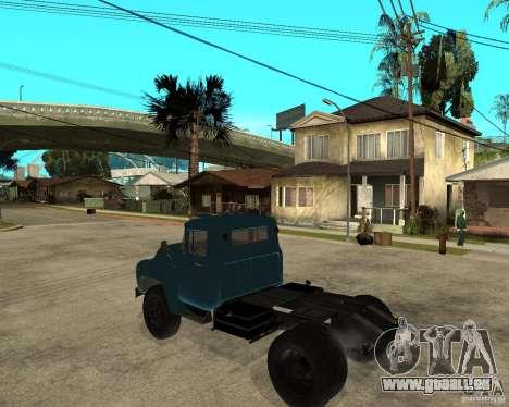 ZIL 130B1 pour GTA San Andreas laissé vue