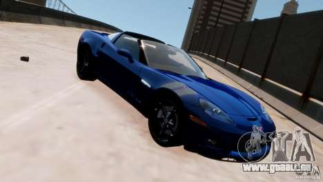 Chevrolet Corvette Grand Sport 2010 für GTA 4 linke Ansicht