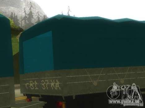 GKB-8536-trailer für GTA San Andreas zurück linke Ansicht