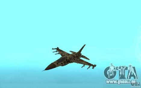 F16C Fighting Falcon pour GTA San Andreas