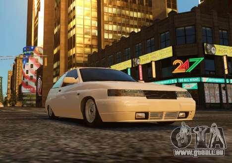 Coupe de VAZ-2112 pour GTA 4 est un droit