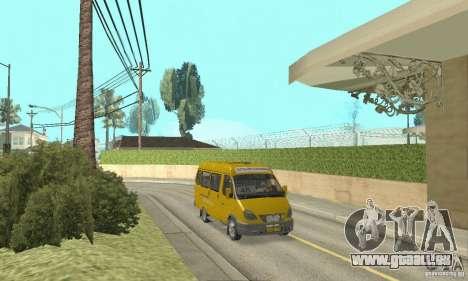 GAZ 2705 Minibus für GTA San Andreas