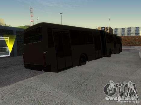 Laz-А291 pour GTA San Andreas vue arrière
