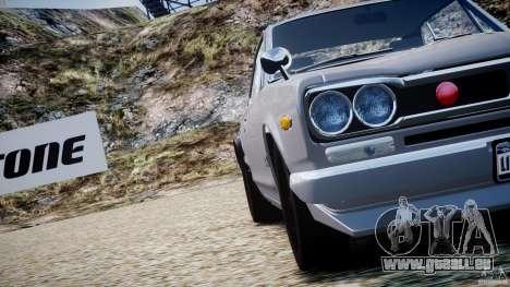 Nissan Skyline 2000 GT-R pour le moteur de GTA 4