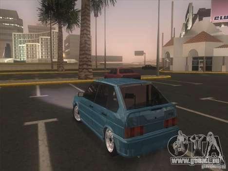 ВАЗ 2114 Casino pour GTA San Andreas sur la vue arrière gauche