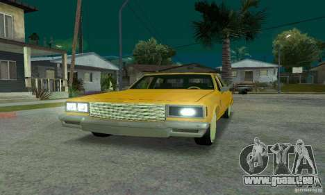 Chevrolet Impala 1977 Lowrider pour GTA San Andreas