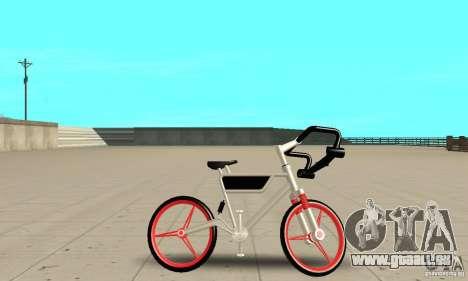 Wind Solar MT Bike pour GTA San Andreas sur la vue arrière gauche