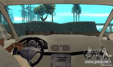 Volvo S80 1999 pour GTA San Andreas vue de droite