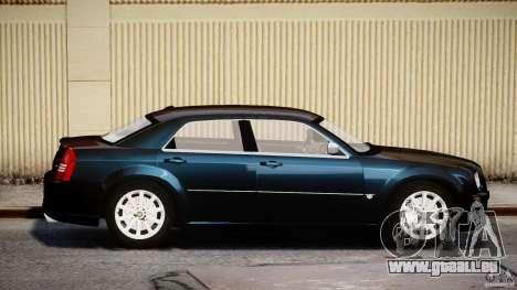 Chrysler 300C SRT8 pour GTA 4 est une vue de l'intérieur