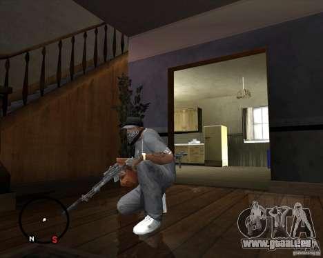 M14 EBR pour GTA San Andreas troisième écran