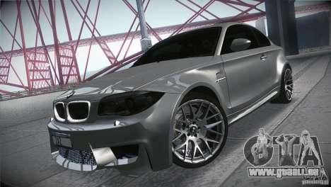 BMW 1M E82 Coupe 2011 V1.0 pour GTA San Andreas