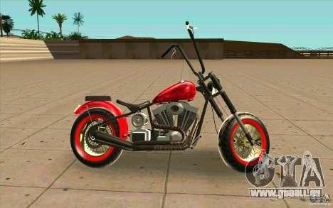 Zombie GTAIV pour GTA San Andreas laissé vue