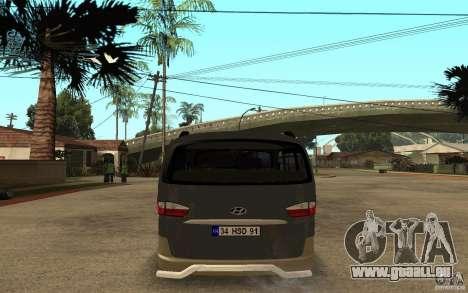 Hyundai Starex pour GTA San Andreas vue de droite