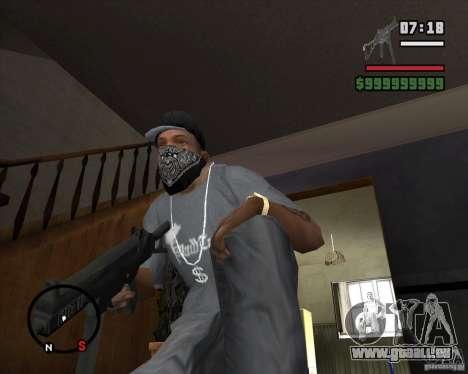 Ump 45 HD pour GTA San Andreas deuxième écran