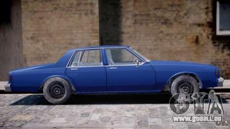 Chevrolet Impala 1983 [Final] pour GTA 4 vue de dessus