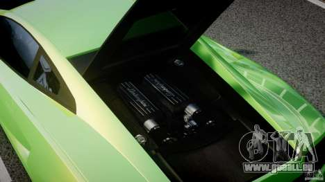 Lamborghini Gallardo LP560-4 DUB STYLE pour GTA 4 vue de dessus