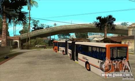 Caio Induscar Millenium II pour GTA San Andreas sur la vue arrière gauche