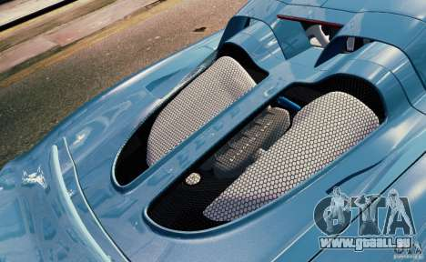 Porsche Carrera GT pour GTA 4 Salon