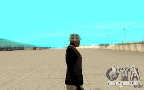 Bronik peau 4 pour GTA San Andreas deuxième écran