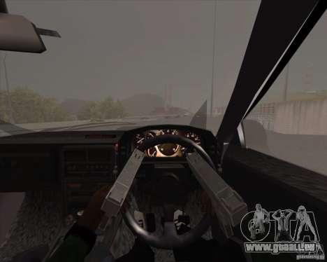 Mazda Savanna RX-7 FC3S pour GTA San Andreas vue intérieure