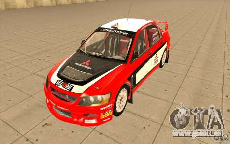 Mitsubishi Lancer Evo IX DiRT2 für GTA San Andreas