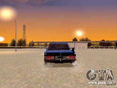 BMW 30 CSL Drift für GTA San Andreas zurück linke Ansicht