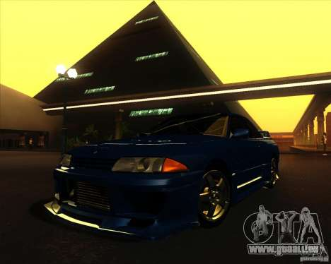 Nissan Skyline GT-R R32 1993 Tunable für GTA San Andreas