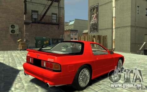 Mazda RX-7 1990 FC3s für GTA 4 rechte Ansicht