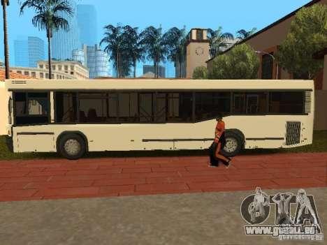 MAZ 104.025 pour GTA San Andreas laissé vue