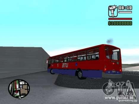 Busscar Urbanuss Pluss VW 17-230 EOD Alongado für GTA San Andreas zurück linke Ansicht