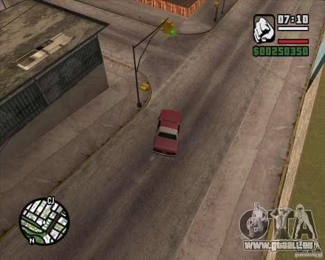 Caméra comme dans GTA Chinatown Wars pour GTA San Andreas troisième écran