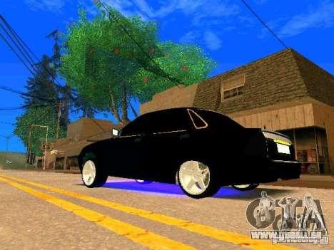 LADA 2170 Priora Gold Edition pour GTA San Andreas vue de droite