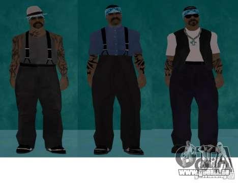 Skins Bands HQ für GTA San Andreas zweiten Screenshot