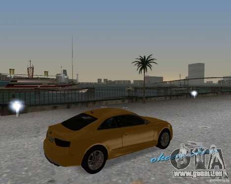 Audi S5 pour une vue GTA Vice City de la droite