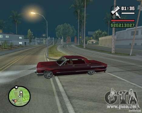Nouvelles icônes de carte pour GTA San Andreas troisième écran