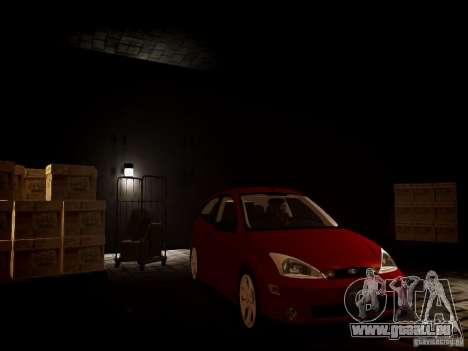 Ford Focus SVT 2003 pour GTA 4 est un droit